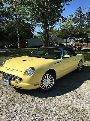 2002 Ford Thunderbird First Edition Deluxe Model 2002 Ford Thunderbird Convertible 34,868 Miles REDUCED!