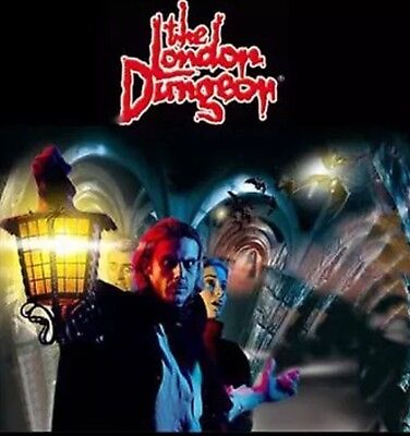 London Dungeon! London X2 Tickets (June 1st To October 15th 2017)