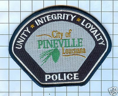 Police Patch - Louisiana - City of Pineville