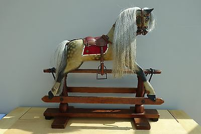 F H Ayres Rocking Horse - Recently subject to a sympathetic restoration.