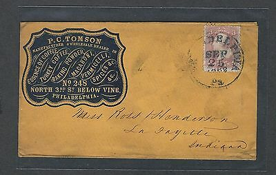 mjstampshobby 1861 US Cover VF Cond Vintage RARE (Lot1442)