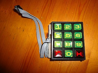 N.s.m. Keypad Assembly, New Old Stock, Fully Tested, Free Delivery, Look.
