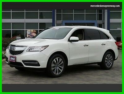 2015 Acura MDX Tech/Entertainment Pkg 2015 Tech/Entertainment Pkg Used 3.5L V6 24V Automatic All Wheel Drive SUV