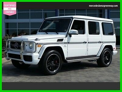 2016 Mercedes-Benz Other AMG G 63 2016 AMG G 63 Used Certified Turbo 5.5L V8 32V Automatic All Wheel Drive SUV