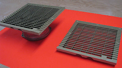 Rittal Enclosure Cooling Fan and inlet louver - 10in x 10in; 5 available