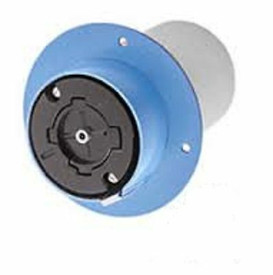 Hubbell HBL26521 Hubbellock 4 Pole 5 Wire 60A 600V Industrial Flanged Receptacle