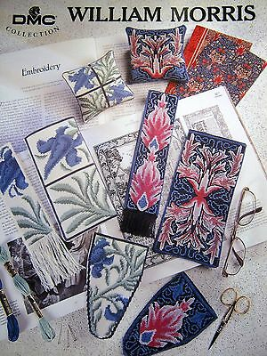Cross Stitch Chart Booklet - DMC COLLECTION - WILLIAM MORRIS (sp)