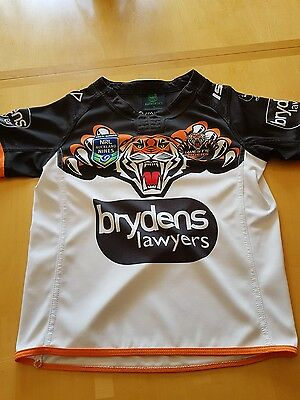 Wests tigers shirt age 10