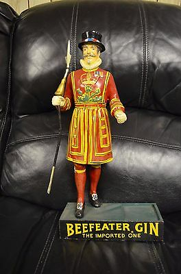 Beefeater Gin Marketing Figure