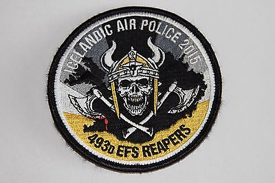 USAFE 493rd EFS Reapers Iceland 2015 Patch