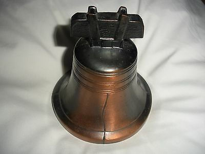 Metal Liberty Bell Bank - Tomah and Warrens Wisconsin