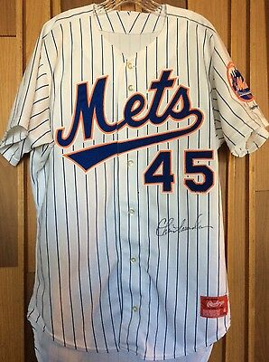 1994 Binghamton Mets Game Used Jersey