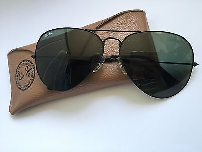 Ray Ban Aviator Sunglasses | Excellent Condition | Original Case included