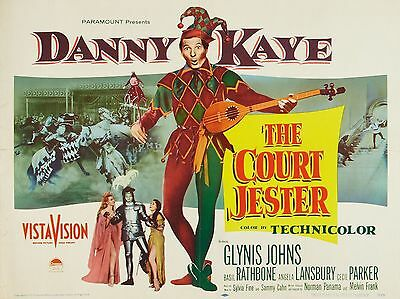 """The Court Jester 16"""" x 12"""" Reproduction Movie Poster Photograph"""