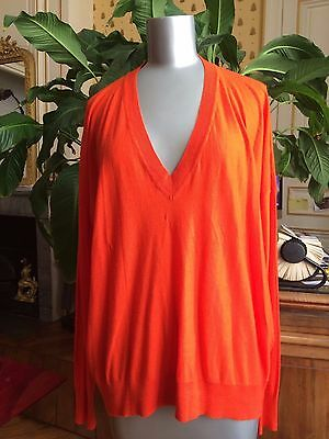 SONIA RYKIEL PULL Laine ROUGE  taille L