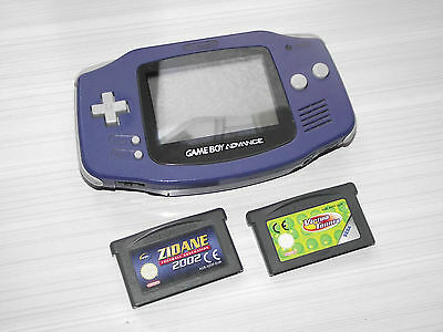 Console GAME BOY ADVANCE + 2 jeux