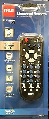 BRAND NEW UNIVERSAL Remote Control RCA 3 Device RCR503BE