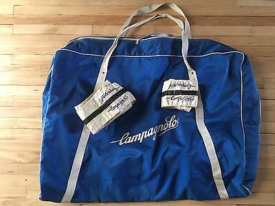 Vintage Campagnolo Bicycle Bag Bike Wheel Tyre Covers Track Cycling Pista