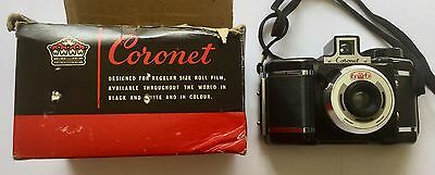 Excellent Vintage Coronet 6 - 6 Camera And Box