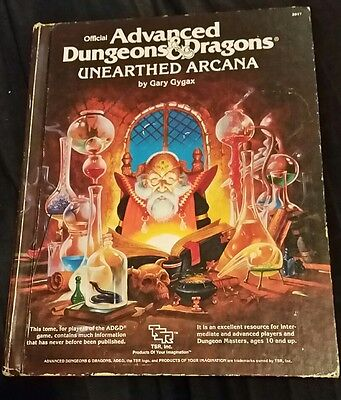1985 TSR AD&D Unearthed Arcana
