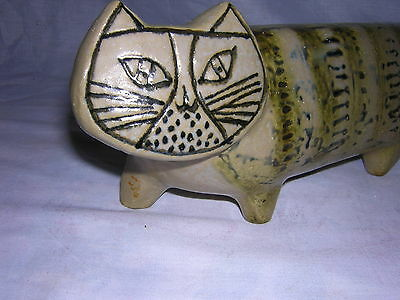 GUSTAVSBERG Sweden Pottery Large Lisa Larson Stora Zoo Ceramic Cat Figurine 1957
