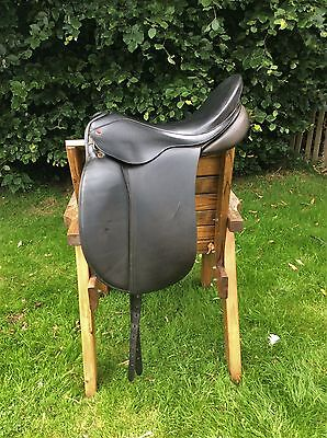 "Albion Dressage Saddle 17.5"" Extra Wide"