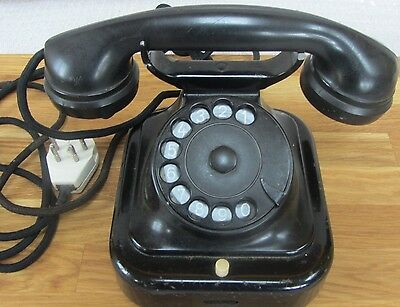 Vintage Philips Telephone with Bakelite Receiver