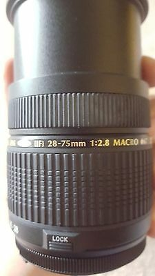 Tamron SP A09 28-75mm 2.8f Macro LD XR Aspherical Di IF AF Lens For Nikon