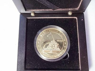 Washington Dc Iwo Jima Us Marine Corps Memorial Commemorative Collectible Coin