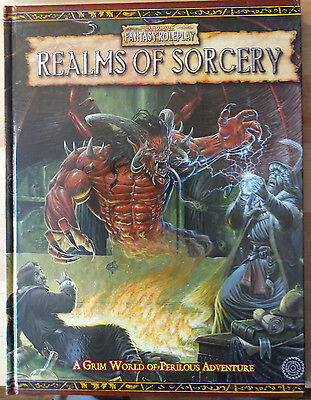 Realms Of Sorcery Wfrp Games Workshop Warhammer Fantasy Role-Play Book