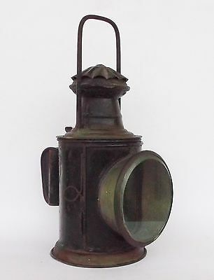 Antique Handlan Train Railroad Railway Lantern Light Lamp