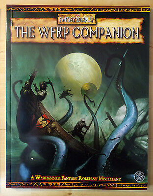 The Wfrp Companion Wfrp Games Workshop Warhammer Fantasy Role-Play Book