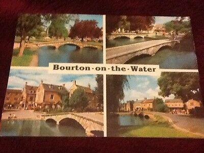 Bourton-On-The-Water. Postcard.