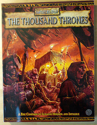 The Thousand Thrones Wfrp Games Workshop Warhammer Fantasy Role-Play Book