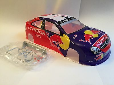 Racing Citroen C4 World Rally Body Shell 200mm Drift RC Painted 1:10 Wrx Car