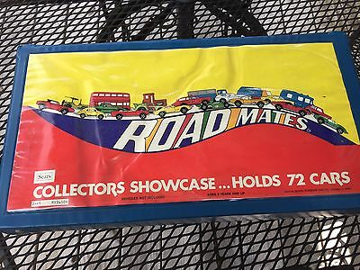 Sears Road Mates  Showcase Carrying Case For Hot Wheels Matchbox Holds 72 Cars