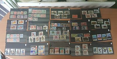 job lot of stamps sets