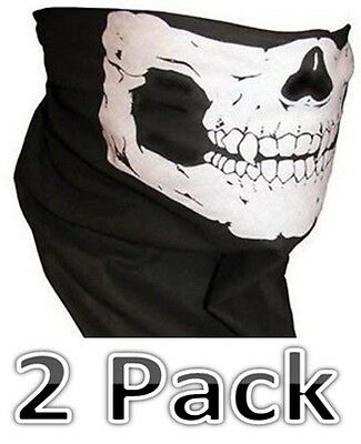 UK Seller Biker Scarf Face Balaclava Skull  Neck Warmer Mask Snood Bandana New 2