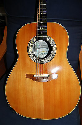 Ovation Custom Balladeer 1612 Guitar - Original Usa 1979