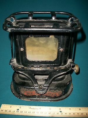 Antique Vintage Mini Kerosene Heater THE VOLUNTEER - Sad Iron, Camping, Railroad