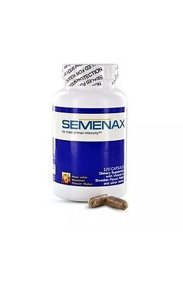 1 x Month Semenax 120 Pills, Up to 500% More Semen, 100% Authentic Volume