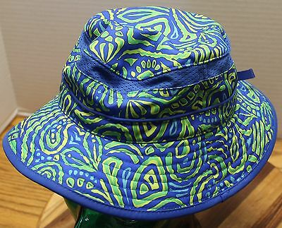 Sunday Afternoons Bucket Hat Child Kids 16-24 Months Blue/green Excellent Cond