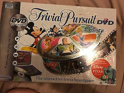 Trivial Pursuit Disney Edition Sealed Content Trivia Board Game Complete