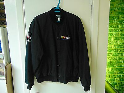 "Nascar ""America's Ultimate Motorsport"" Light Jacket - Color Black - Size : Large"
