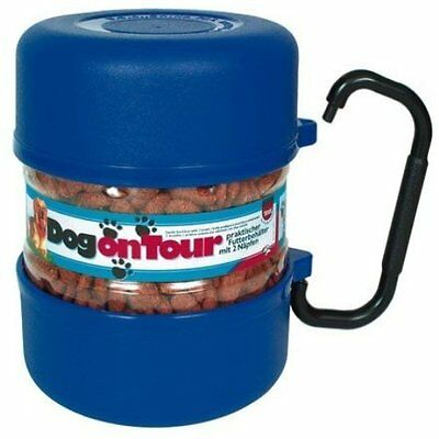 Trixie 2491 Travel Set Plastic 2 L / 0.75 L Blue