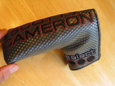 Scotty Cameron 2014 Select Black Milled Putter Head Cover BLADE Titleist NEW