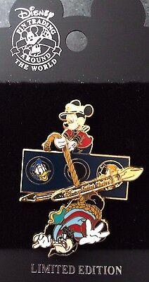 Disney DCL Rescue Captain Mickey Artist Choice Dangle Pete Donald Pluto LE Pin