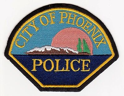 City Of Phoenix Oregon Police Patch Never Used Clean + Free Shipping
