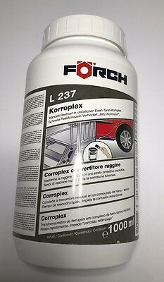 Förch L237 Korroplex - Convertisseur de Rouille Traitement Antirouille - 1000ML