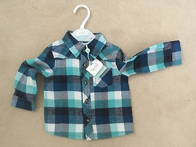 Baby M&Co Boys Shirt - 6-9 Month BNWT